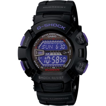 G-Shock G9000BP-1 Mudman Black & Purple Watch