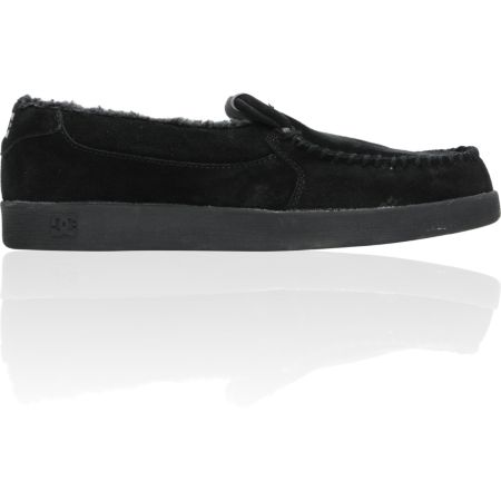 DC Villain Black Slippers