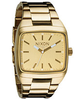 Nixon Manual II All Gold Guys Analog Watch