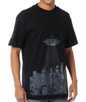 Cake Face Sealiens Black Tee Shirt