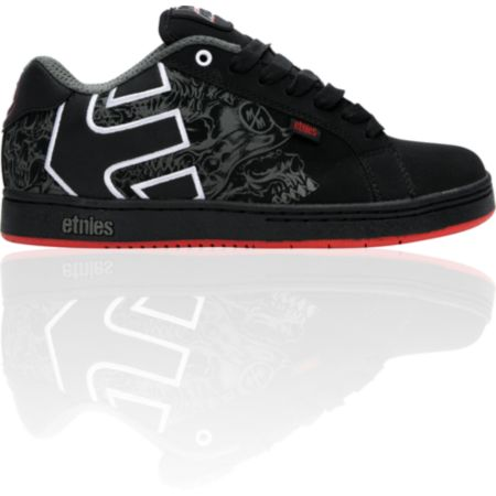 Etnies x Metal Mulisha Fader Black & Red Shoe