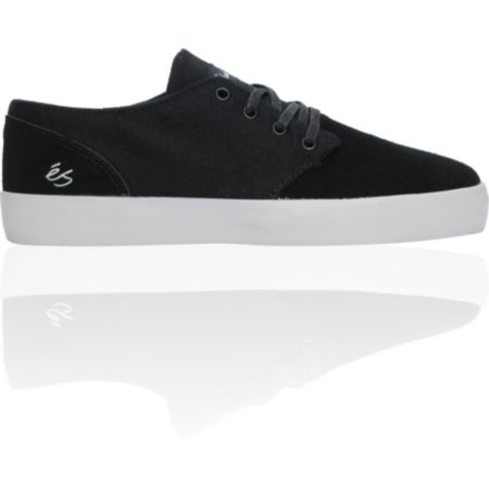 eS Edward Black & Grey Wool Skate Shoe