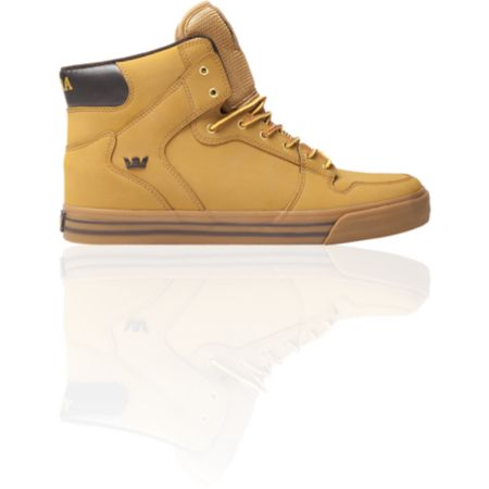 Supra Vaider Wheat Nubuck Shoe