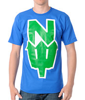 Casual Industrees N Dub Blue Tee Shirt