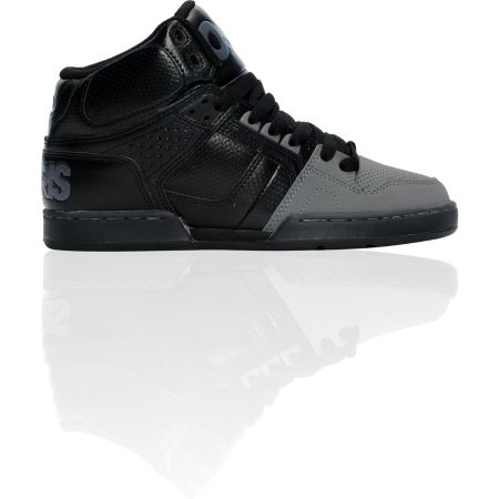 Osiris NYC 83 Black, Chrome & Black Shoe