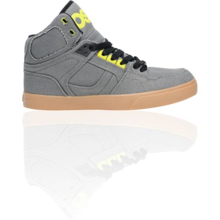 Osiris NYC 83 VLC Charcoal, Lime & Gum Shoe