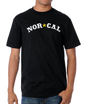 Nor Cal Nautical Black Tee Shirt