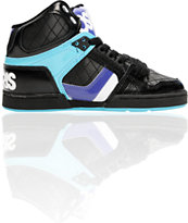 Osiris Women's NYC 83 Slim Black, Iris & Blue Shoe