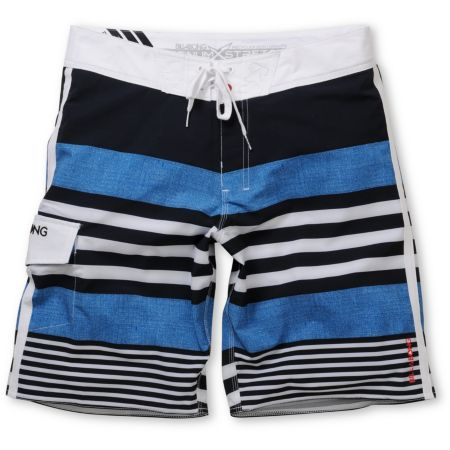 Billabong Reverse 19 Navy Blue Stripe Board Shorts