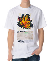 LRG Deeply Rooted White Tee Shirt