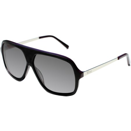 9Five Crowns Stevie Williams Matte Black & Plum Sunglasses