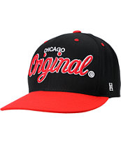 KR3W Original Chicago City Snapback Hat