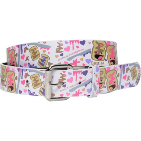 PB&J Besties BFF Graphic Print Girls Belt