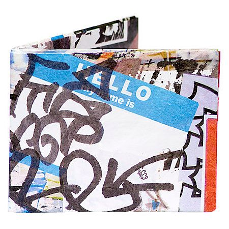 Mighty Wallet Graffiti Bifold Wallet