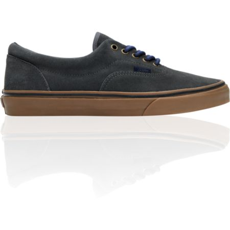 Vans Era Dark Shadow & Gum Suede Skate Shoe