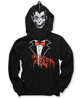 Volcom Fear Vampire Boys Full Zip Face Mask Hoodie