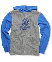 Element Boys Bunt Blue Pullover Hoodie