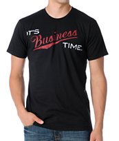 A-Lab Business Hours Black Tee Shirt