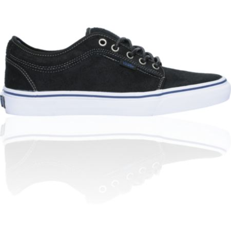 Vans Chukka Low Black Dura-Suede Skate Shoe