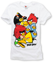 Angry Birds Girls Birdy White Tee Shirt