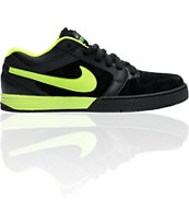 Nike 6.0 Zoom Mogan 3 Lunarlon Black & Volt Shoe