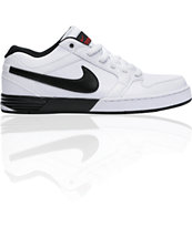 Nike 6.0 Zoom Mogan 3 Lunarlon White, Black & Red Shoe