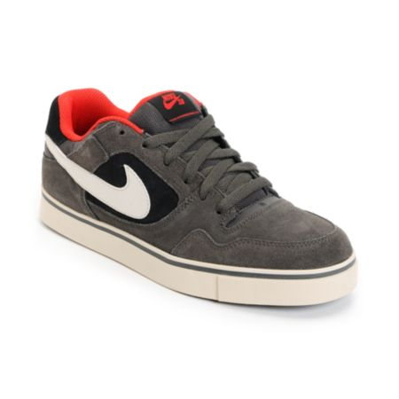 Nike SB P-Rod 2.5 Fog, Birch, & Black Suede Skate Shoe