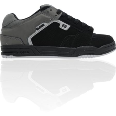 Globe Shoes Scribe Black & Charcoal Skate Shoe