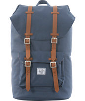 Herschel Supply Little America Navy Canvas Backpack