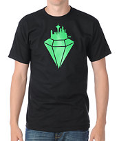 Casual Industrees Emerald City Black Tee Shirt