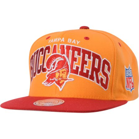 NFL Mitchell and Ness Buccaneers Arch Snapback Hat