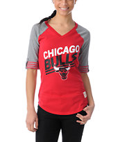 NBA Mitchell and Ness Chicago Bulls Comeback Girls Tee Shirt