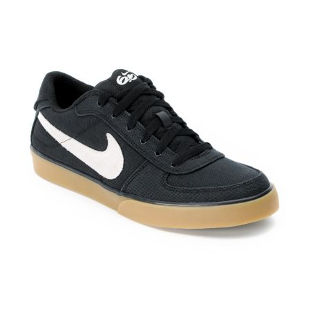 Nike 6.0 Mavrk Black, White & Gum Canvas Skate Shoe