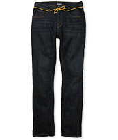 Dravus Driver Grease Monkey Blue Skinny Jeans