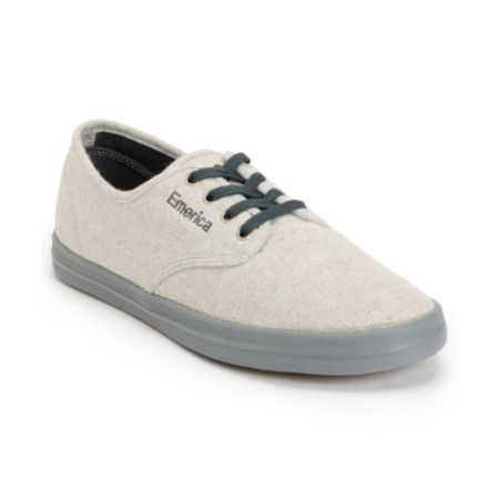Emerica Wino Fusion Light Grey & Dark Grey Chillseeker Shoe