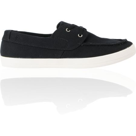 Emerica Seahag Fusion Black Canvas Chill Seeker Shoe