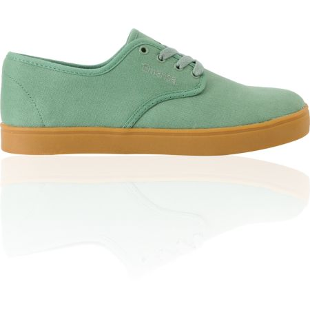 Emerica Laced Green & Gum Skate Shoe