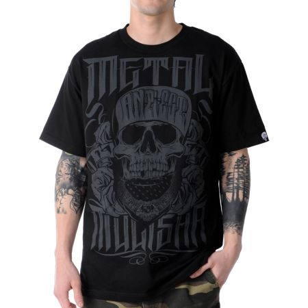 Metal Mulisha Fresh Black Tee Shirt