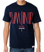 Diamond Supply Coda Navy Tee Shirt