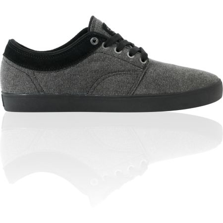 Vans Pacquard Black Wash & Black Skate Shoe
