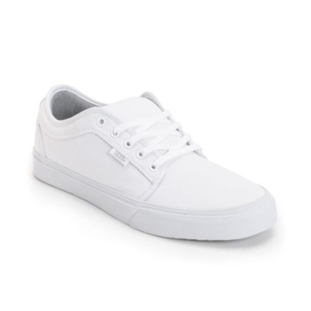 Vans Chukka Low White Shoe