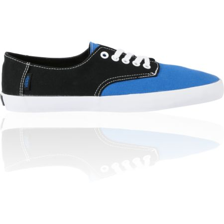 Vans E-Street Classic Blue & Black Shoes