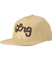LRG Sesh Straw Tan Adjustable Hat