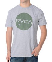 RVCA Dotty Grey Tee Shirt