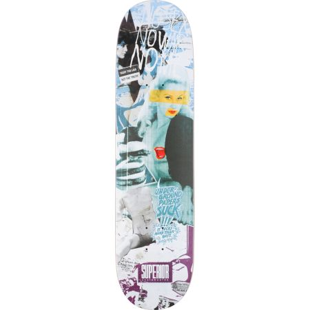 Superior Skateboards 7.9 Lust Skateboard Deck