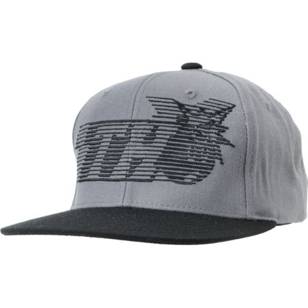 The Hundreds Blinds Black & Grey Snapback