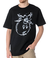 The Hundreds Smoke Adam Black Tee Shirt