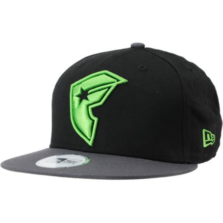 Famous Stars & Straps OG Black & Charcoal New Era Snapback Hat