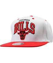NBA Mitchell And Ness Chicago Bulls Arch Snapback Hat