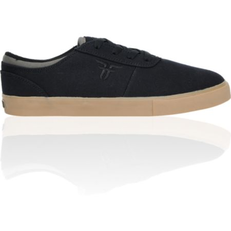 Fallen Vice Billy Marks Black & Gum Canvas Skate Shoe
